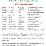 Aktivitetsplan 2021